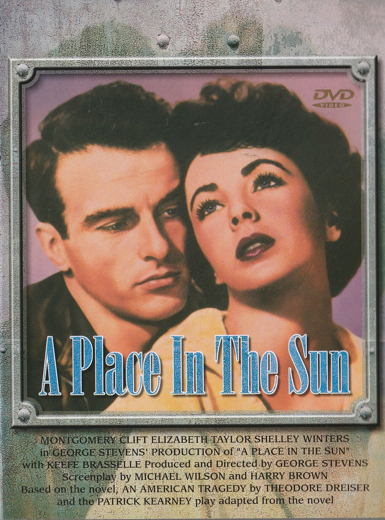 A Place In The Sun (1951) - Montgomery Clift  DVD
