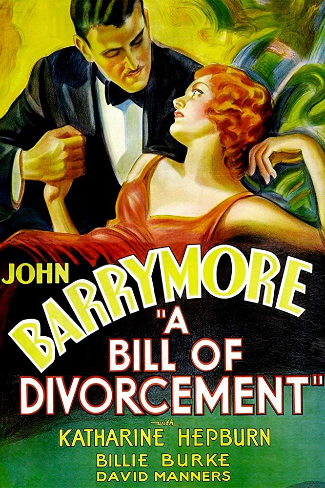 A Bill Of Divorcement (1932) - Katharine Hepburn  DVD