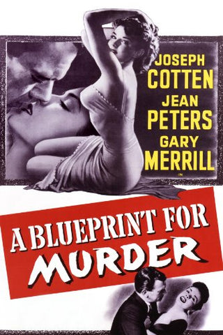 A Blueprint For Murder (1953) - Joseph Cotten  DVD