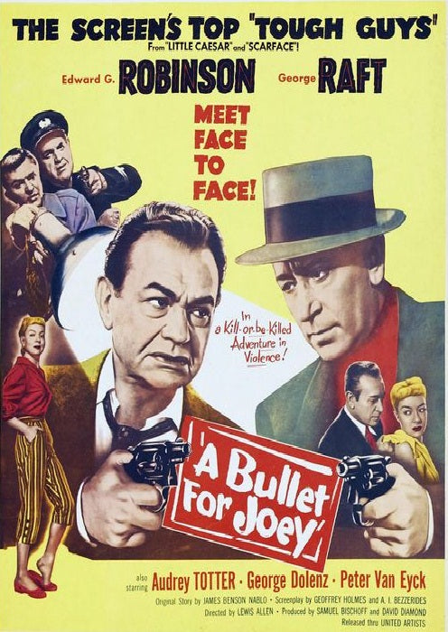 A Bullet For Joey (1955) - Edward G. Robinson  DVD