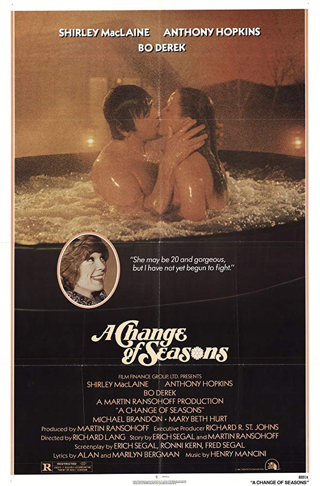A Change Of Seasons (1980) - Anthony Hopkins  DVD