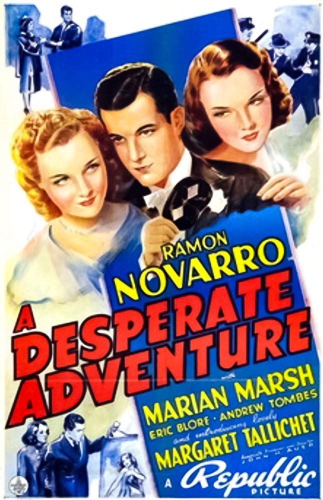 A Desperate Adventure (1938) - Ramon Novarro  DVD