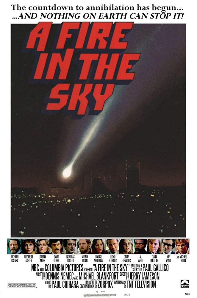 A Fire In The Sky (1978) - Richard Crenna  DVD