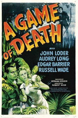 A Game Of Death (1945) - John Loder  DVD