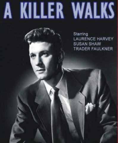 A Killer Walks (1952) - Laurence Harvey  DVD