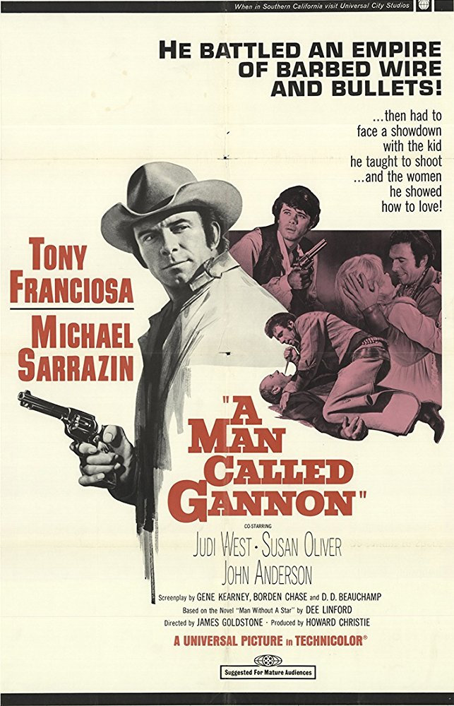 A Man Called Gannon (1968) - Anthony Franciosa  DVD