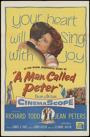 A Man Called Peter (1955) - Richard Todd  DVD