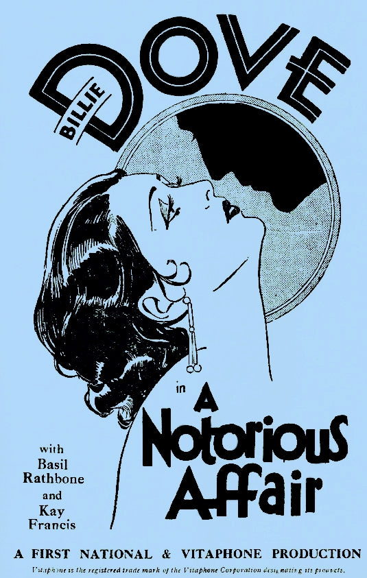 A Notorious Affair (1930) - Basil Rathbone  DVD