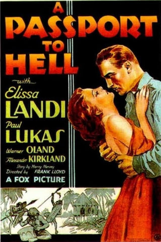 A Passport To Hell (1932) - Warner Oland  DVD
