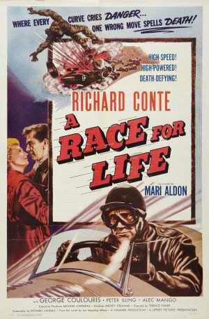 A Race For Life AKA Mask Of Dust (1954) - Richard Conte  DVD