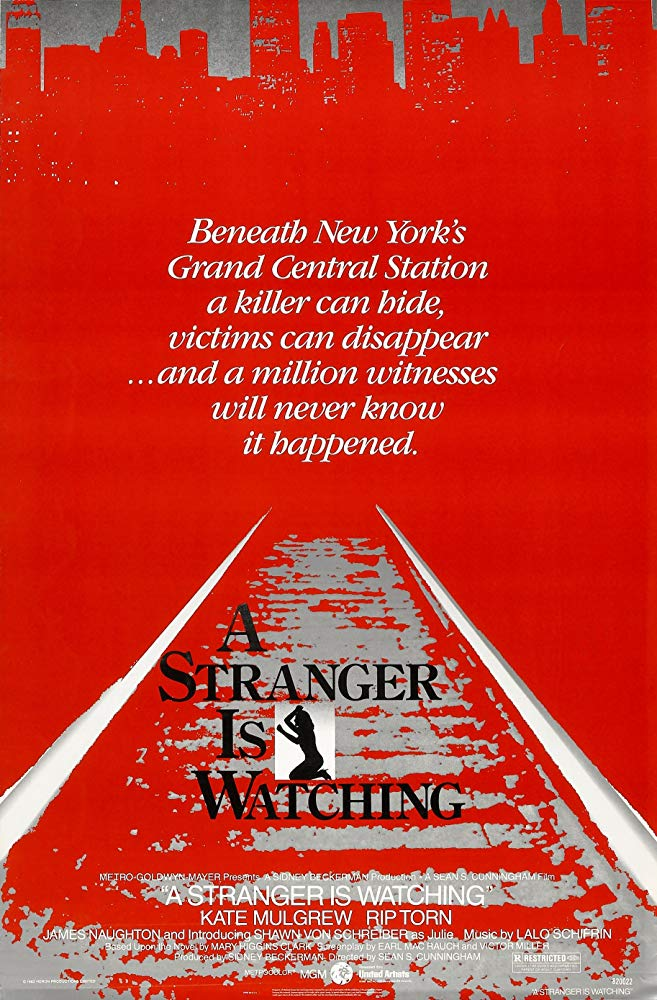 A Stranger Is Watching (1982) - Rip Torn  DVD