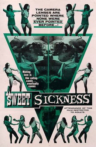 A Sweet Sickness (1968) - Vincene Wallace  DVD
