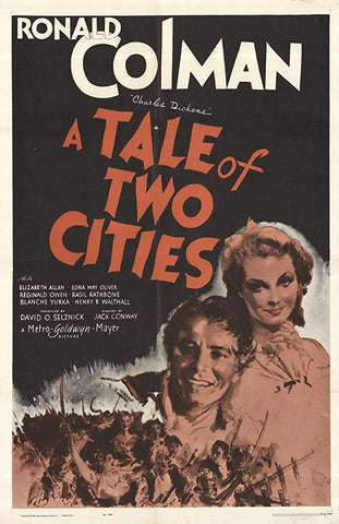 A Tale Of Two Cities (1935) - Ronald Colman  DVD