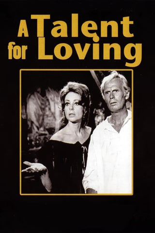 A Talent For Loving AKA Gun Crazy (1969) - Richard Widmark  DVD