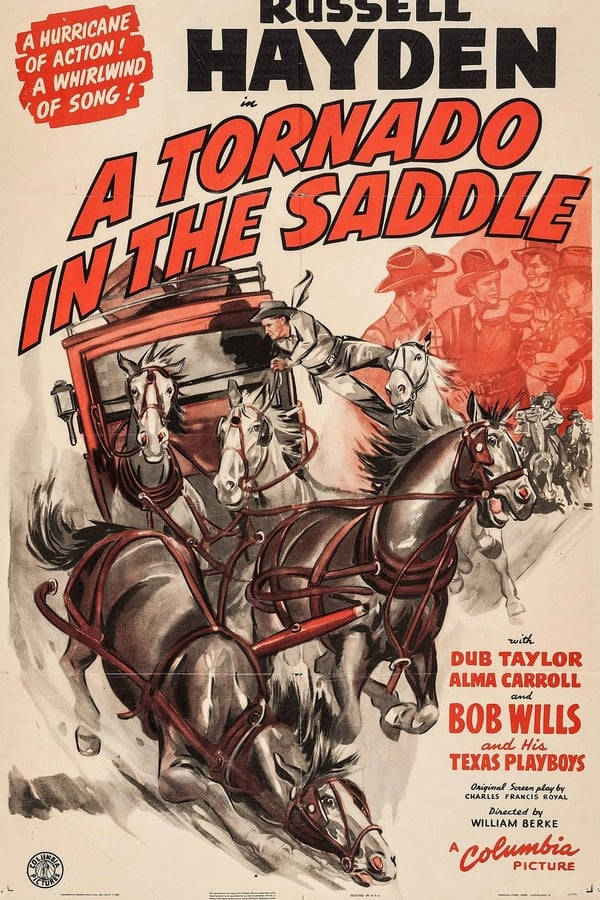A Tornado In The Saddle (1942) - Russell Hayden  DVD