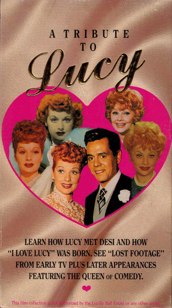 A Tribute To Lucy - Lucille Ball  VHS