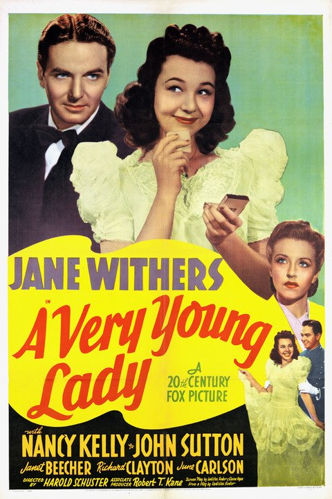A Very Young Lady (1941) - Jane Withers  DVD