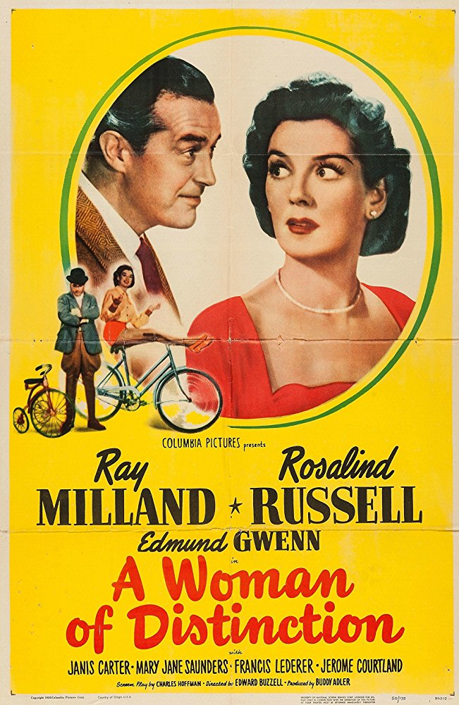 A Woman Of Distinction (1950) - Ray Milland