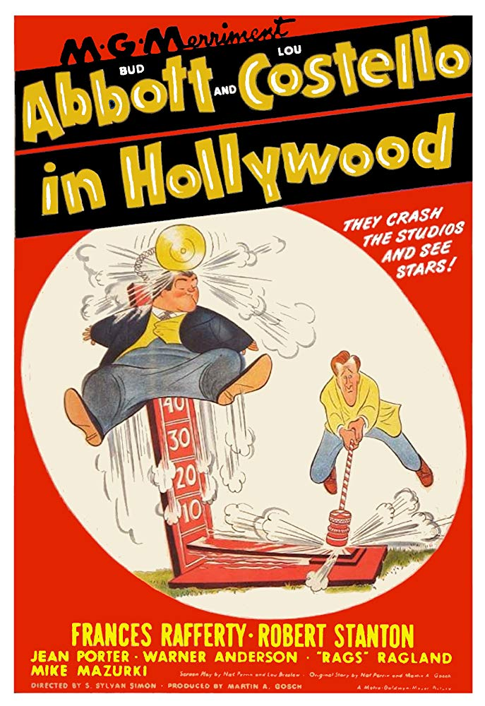 Abbott And Costello In Hollywood (1945)  DVD
