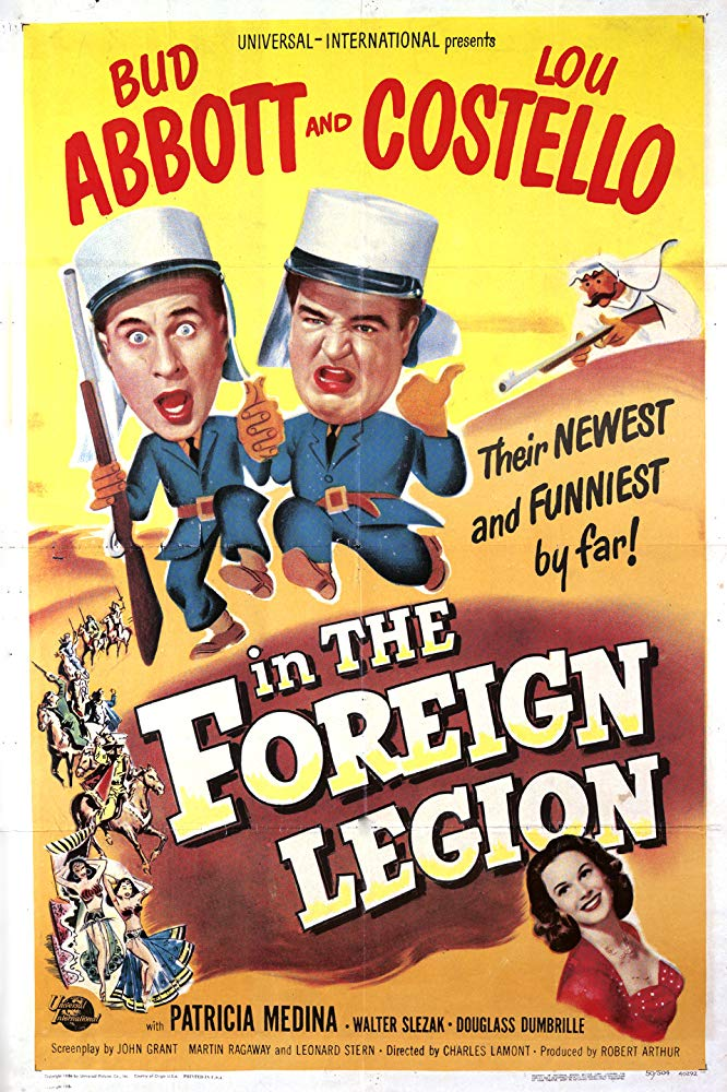 Abbott And Costello In The Foreign Legion (1950)  DVD