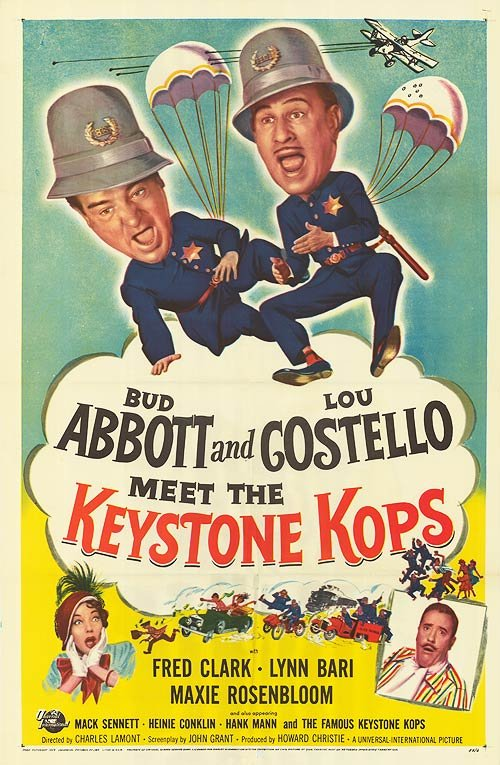 Abbott And Costello Meet The Keystone Kops (1955)  DVD