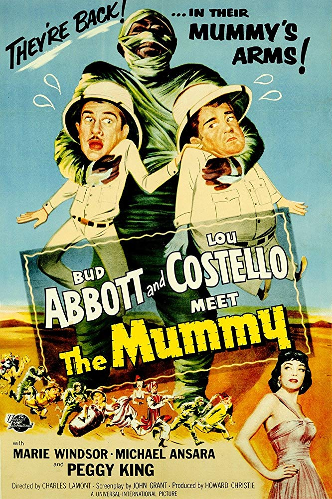 Abbott And Costello Meet The Mummy (1955)  DVD