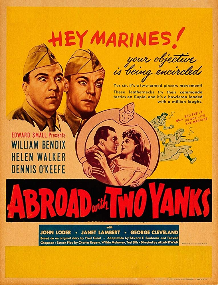 Abroad With Two Yanks (1944) - William Bendix  DVD