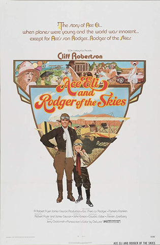 Ace Eli And Rodger Of The Skies (1973) - Cliff Robertson  DVD
