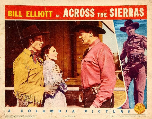 Across The Sierras (1941) - Bill Elliott  DVD