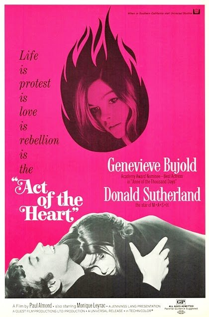 Act Of The Heart (1970) - Donald Sutherland  DVD