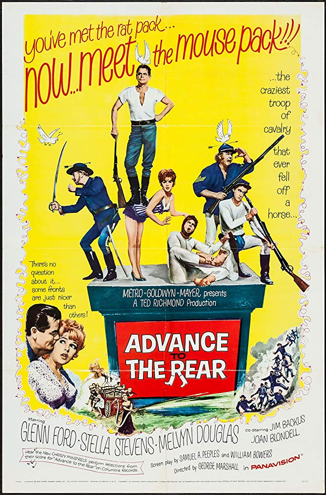 Advance To The Rear (1964) - Glenn Ford  DVD