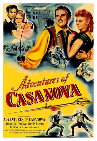 Adventures Of Casanova (1948) - Arturo de Cordova  DVD