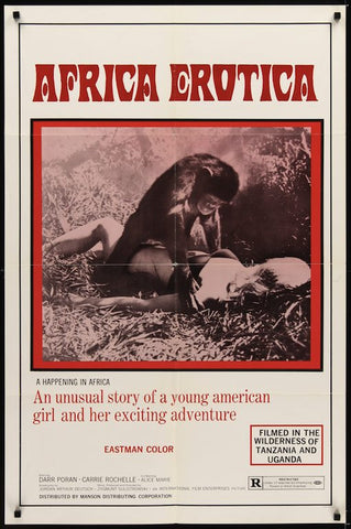 Africa Erotica : A Happening In Africa AKA Jungle Erotic (1970) - Brigitte Lahaie  DVD