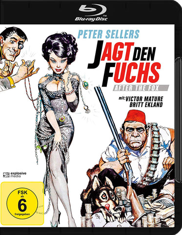 After The Fox (1966) - Peter Sellers  Blu-ray