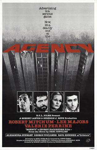 Agency (1980) - Robert Mitchum  DVD