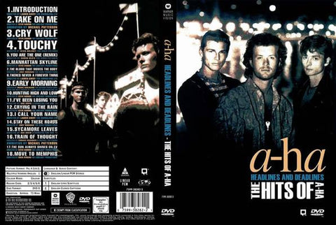 A-ha : Headlines And Deadlines - The Best Of (1991)  DVD