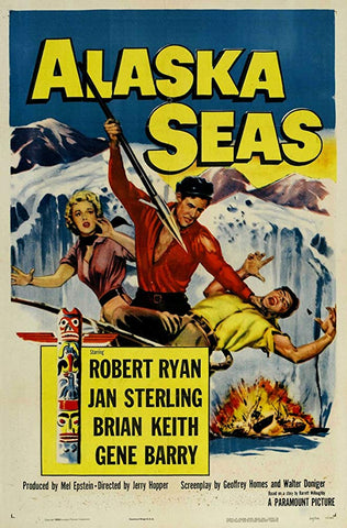 Alaska Seas (1954) - Robert Ryan  DVD