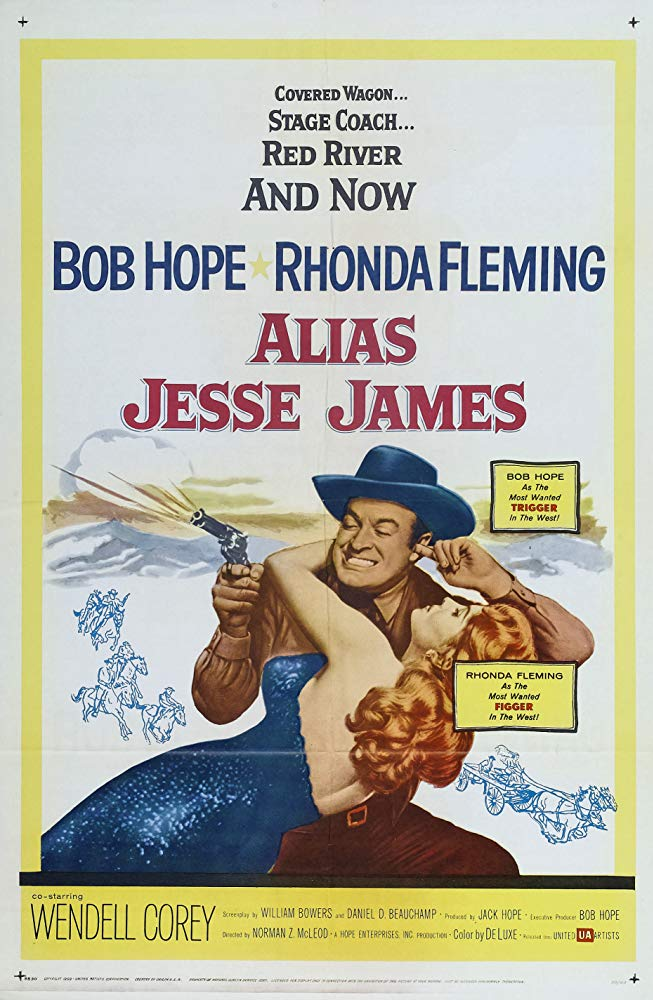 Alias Jesse James (1959) - Bob Hope  DVD
