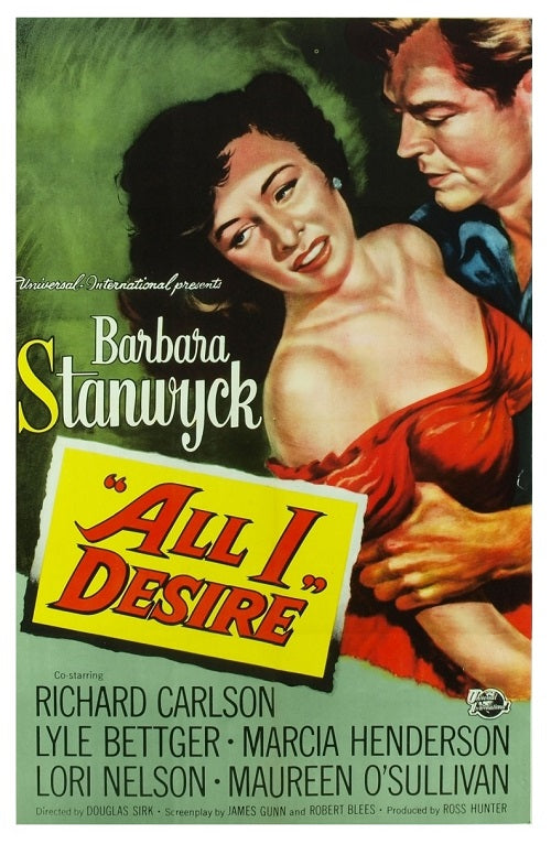 All I Desire (1953) - Barbara Stanwyck  DVD