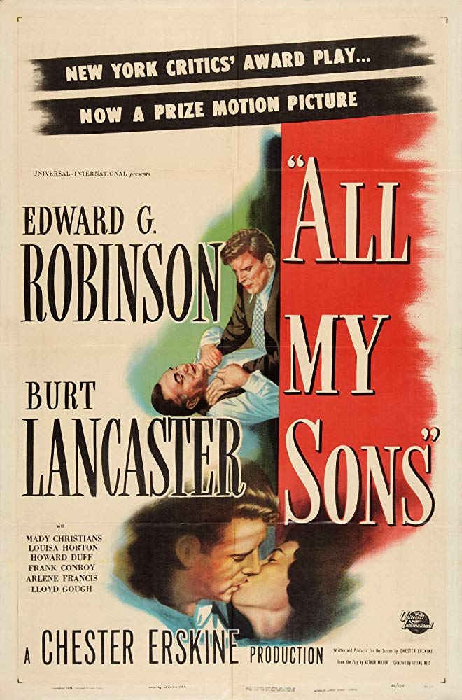 All My Sons (1948) - Edward G. Robinson  DVD