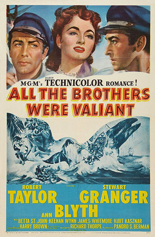 All The Brothers Were Valiant (1953) - Stewart Granger  DVD