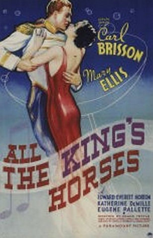 All The King´s Horses (1935) - Carl Brisson  DVD