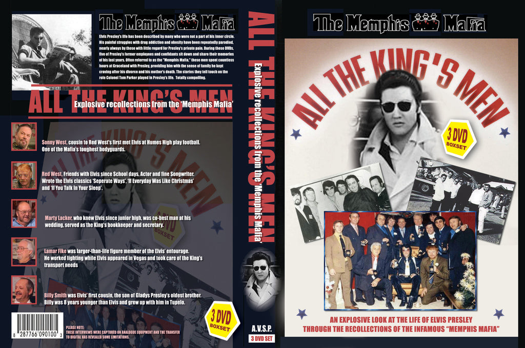 Elvis - All The King´s Men Vol. 1-6 (3 DVD Set)