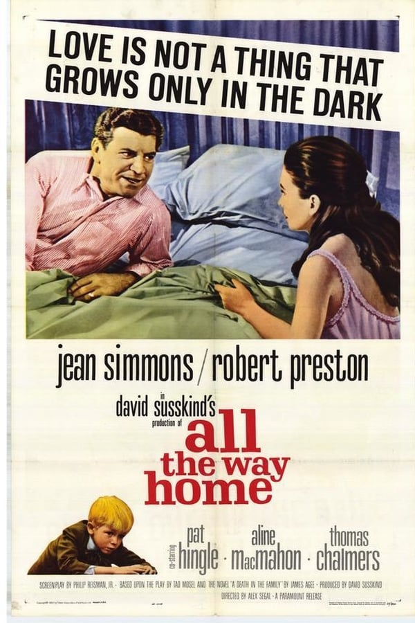 All The Way Home (1963) - Robert Preston  DVD