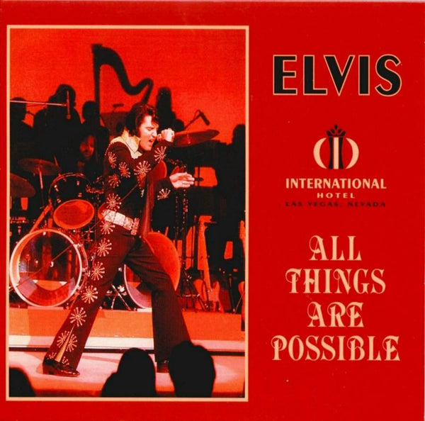 All Things Are Possible - Live In Las Vegas 1971  CD