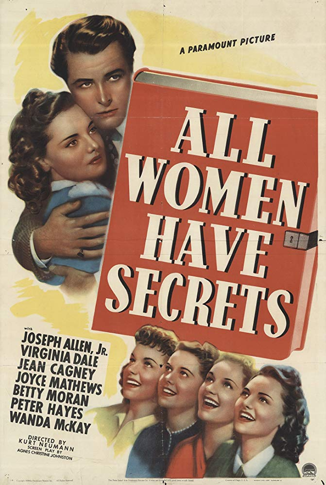 All Women Have Secrets (1939) - Virginia Dale  DVD