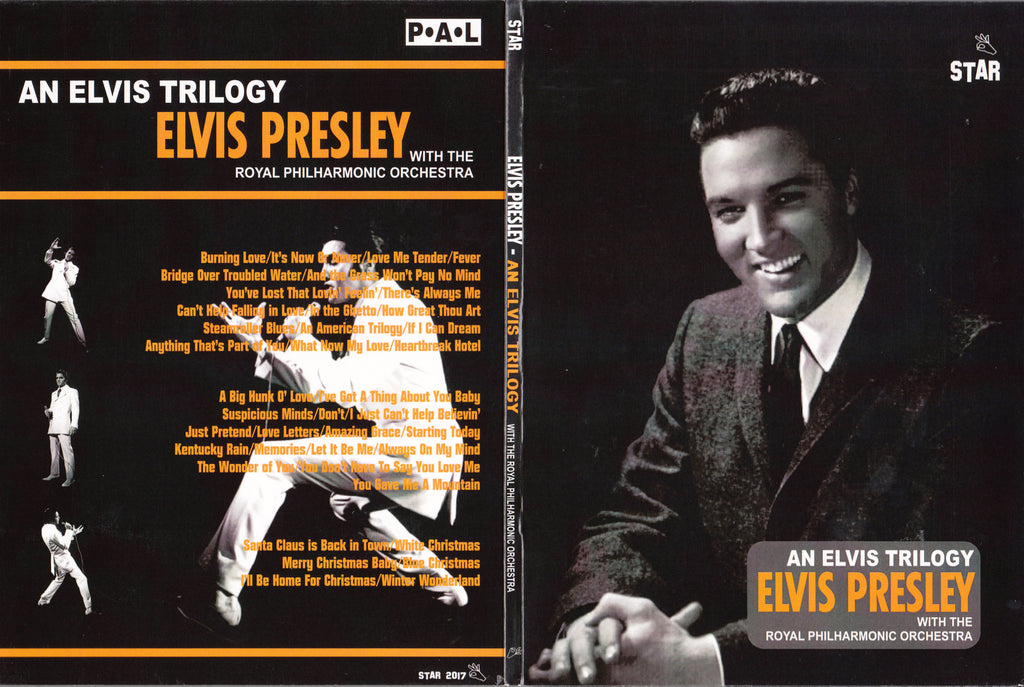 An Elvis Trilogy - With The Royal Philharmonic Orchestra  DVD