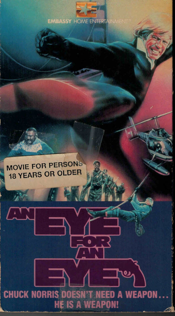 An Eye For An Eye (1981) - Chuck Norris  VHS