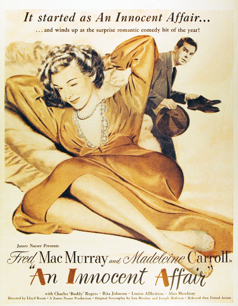 An Innocent Affair (1948) - Fred MacMurray  DVD
