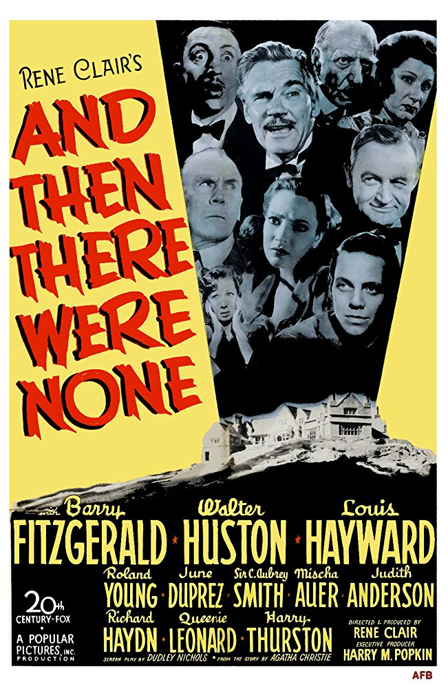 And Then There Were None (1945) - Walter Huston  DVD